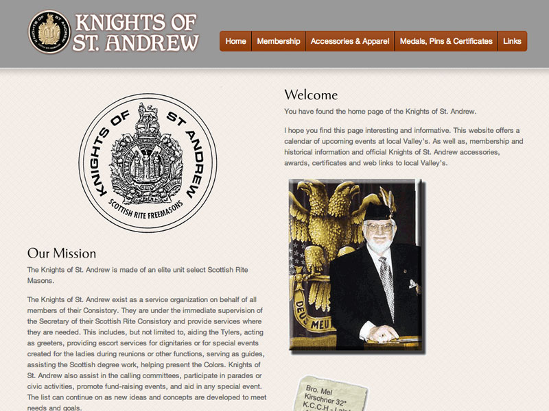Knights of St. Andrew Homepage