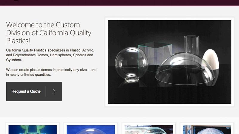 Plastic-Domes-Spheres.com