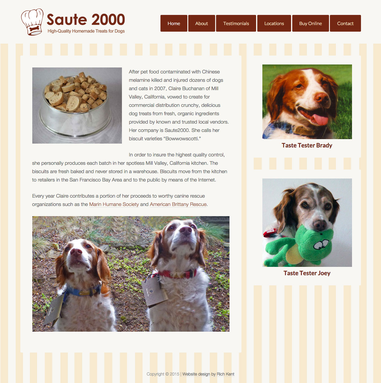 Saute2000.com Homepage