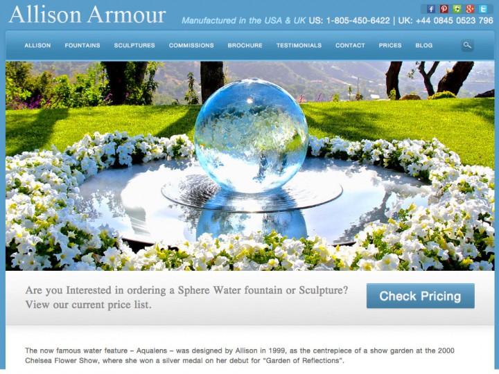 Sphere Fountain Home